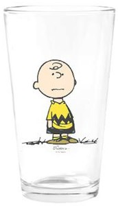Peanuts Charlie Brown Drinking Glass
