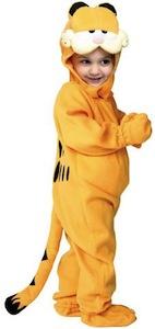 Garfield kids and toddler costume