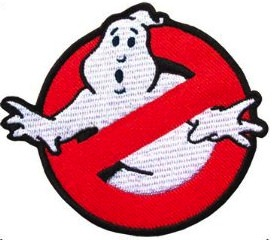 Ghostbusters embroidered logo patch