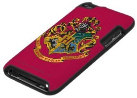 Harry Potter iPod Touch Case with the Hogwarts Crest