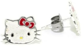 Special Hello Kitty sterling silver earrings