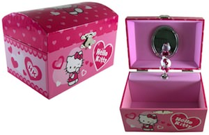 Pink Hello Kitty Jewelry box
