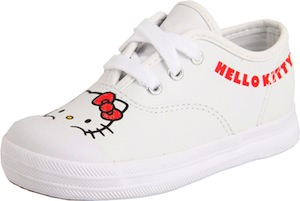 Hello Kitty sneakers for toddlers and infants