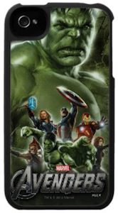 Marvel Avngers iPhone 4S case with the Hulk