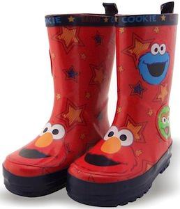 Sesame Street toddler rain boots