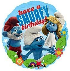 The Smurfs Birthday Balloon