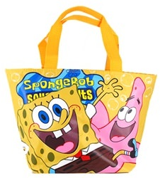 Spongebob And Patrick Tote Bag