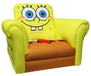 Spongebob Squarepants rocking chair