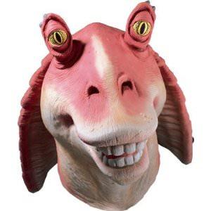 Star Wars jar Jar Binks mask for adults