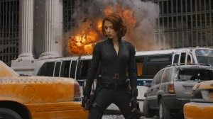 The Avengers Movie Black Widow Photo Poster