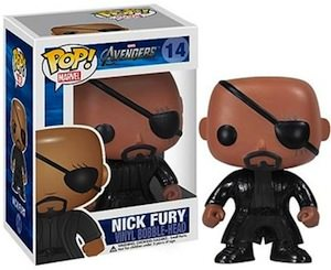 Marvel The Avengers Nick Fury Bobblehead