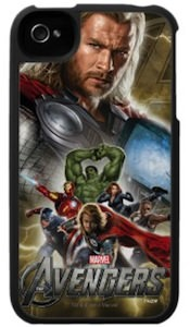 Marvel The Avengers thor group picture iPhone 4S case