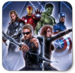 Marvel The Avengers Group Square Stickers