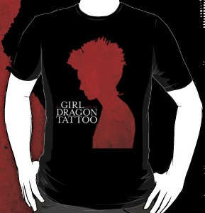 the girl with the dragon tattoo t shirt thlog