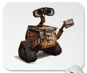 Wall-E robot mousepad