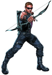 Marvel Cutout of Hawkeye
