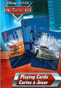 Disney Pixar cars card game playing cards