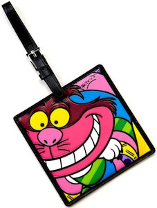 Alice In Wonderland Cheshire Cat Luggage Tag