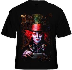 Alice In Wonderland Mad Hatter T-Shirt