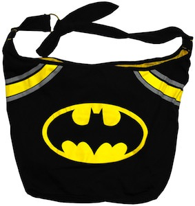 Batman black logo handbag