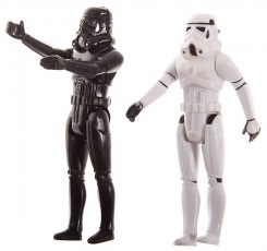 Star Wars Black And White Stormtrooper Action Figure