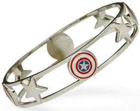 Marvel Captain America Bangle Braclet