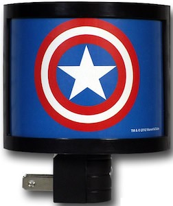 Marvel Captain America nite light
