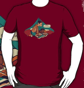 Community Troy And Abed Pillow Fort T-Shirt