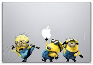Despicable Me Minions Apple Macbook Decal Skin