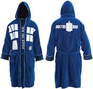Doctor Who Tardis Bath Robe