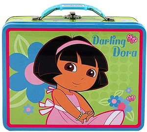 Dora The Explorer Tin Lunch Box
