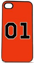 Dukes Of Hazzard General Lee iPhone 4S Case