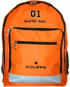 Dukes Of Hazzard General Lee Backpack
