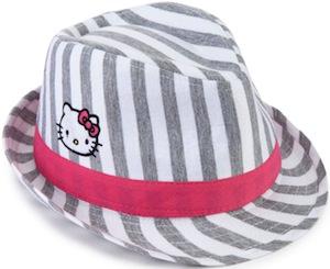 Hello Kitty Fedora Hat