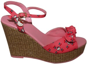 Hello Kitty High Heels Shoes  Sandals