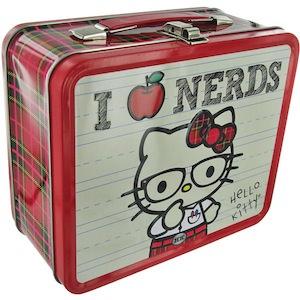 Hello Kitty I Love Nerds Lunch Box