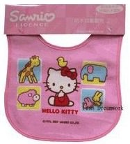 Hello Kitty large Baby Bib