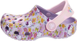 Hello Kitty Crocs for toddlers and little kids
