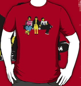 IT Crowd On The Couch T-Shirt