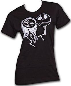 The Nightmare Before Christmas True Love women's T-shirt