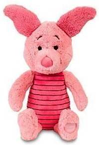 Piglet the pig as plush doll