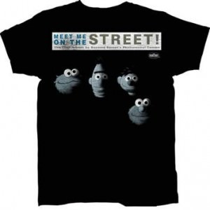 Sesame Street Meet Me on the Street T-shirt