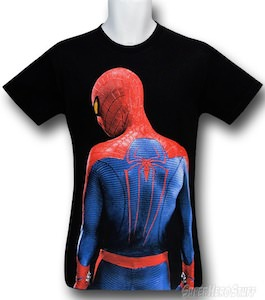 Marvel the amazing Spider-Man movie t-shirt