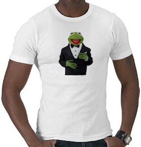 The Muppets Kermit In A Suit T-Shirt