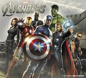 Marvel The Avengers 2013 Wall Calendar