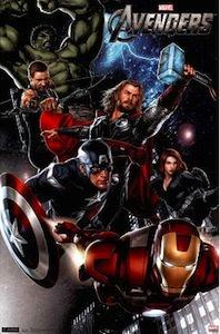 Marvel the Avengers poster