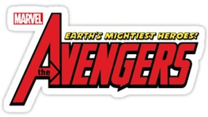Marvel The Avengers Logo Sticker