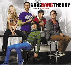 The Big Bang Theory 2013 Wall Calendar