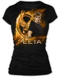 The Hunger Games Peeta Fire T-Shirt