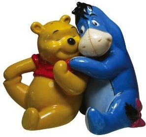 Winnie The Pooh And Eeyore Salt And Pepper Shaker Set